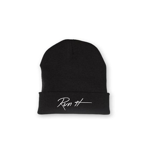Run it winter cap Black