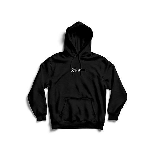 Run it hoodie Black