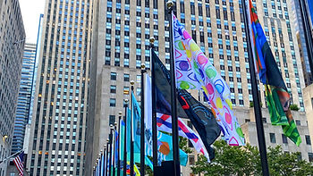JESSE LEBON ROCKEFELLER CENTER FLAG PROJ