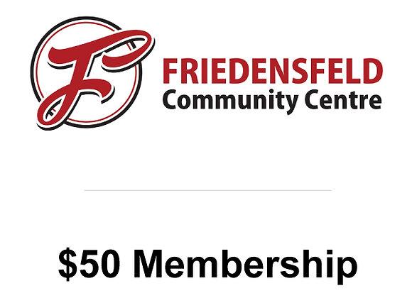 $50 Membership (Ages 16-59)