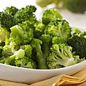 Seasonal sauteed broccoli and garlic