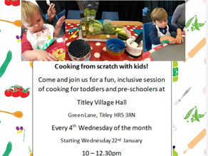 Kids Kitchen comes to Kington!