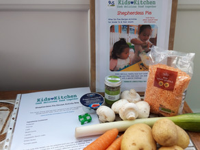 Try our recipe activities with The Living Room, Hereford