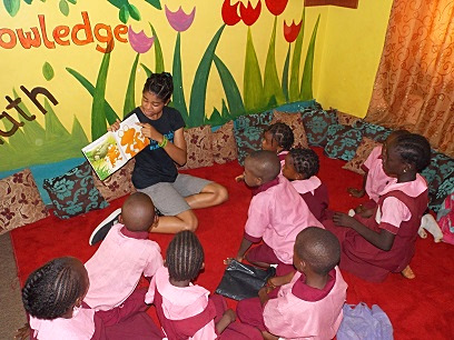 Reading With Abuja Kids
