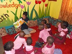 Reading With Abuja Kids