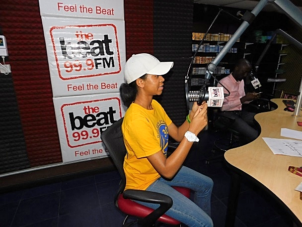 Doing Beat Radio Interview