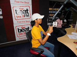 Doing Beat Radio Interview