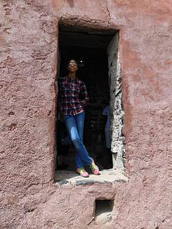At Slave Door of No Return - Dakar