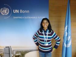 Zurriel Oduwole Arrives at UN Bonn Office for COP23