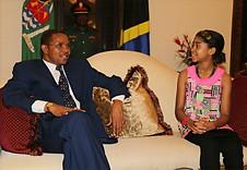 With President Kikwete of  Tanzania