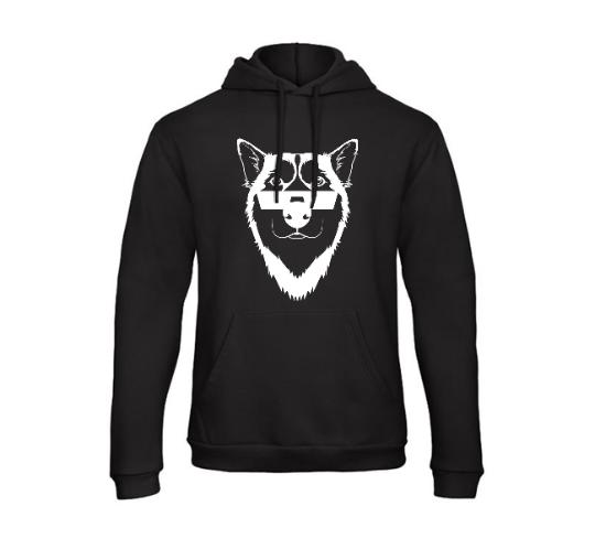 Dogs of Vilnius HUSKY hooded sweatshirt