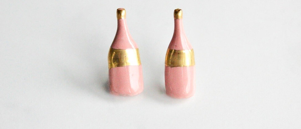 Caramel Ceramics Pair of PROSECCO studs