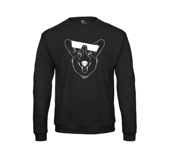 Dogs of Vilnius CORGI crewneck sweatshirt