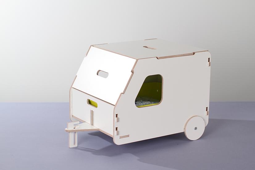 Cat house/litter box cover - Camper