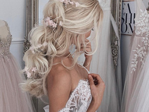 Beautiful and Easy Bridal Hair Styles by Ulyana Aster