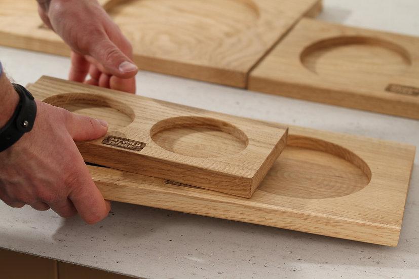 Oak tray