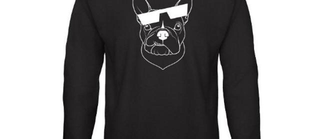 Dogs of Vilnius FRENCH BULLDOG crewneck sweatshirt