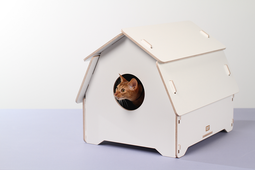 Cat house/litter box cover - Hut