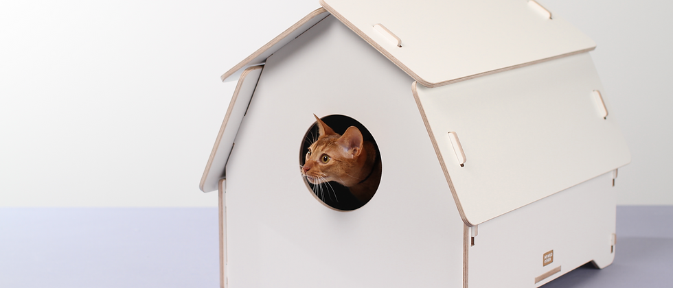 Cat house/litter box cover - Hut