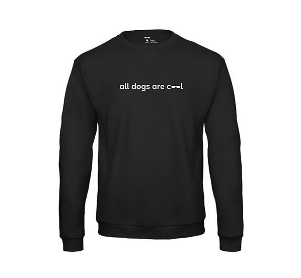 Dogs of Vilnius ALL DOGS ARE COOL 2 crewneck sweatshirt