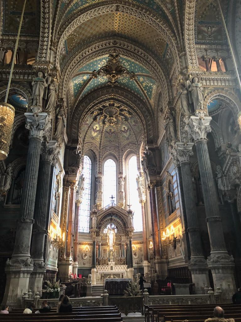 Basilica Notre Dame de Fourviere, Lyon