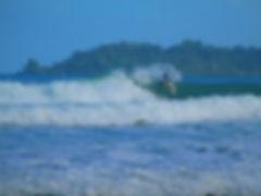 Playa Paunch, Surf, Competencia, Bocas del Toro, Panama