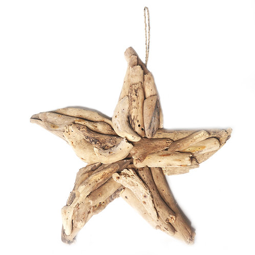 Star Driftwood Decoration