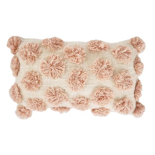 Polkadot Tufted Detail Pillow Case