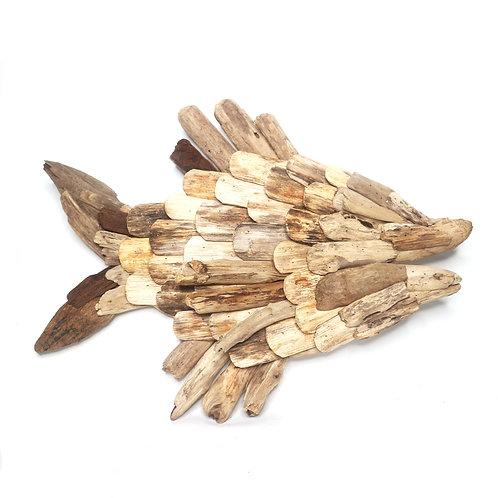 Fish Driftwood Decoration