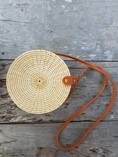 Rattan Bag Natural light and simple