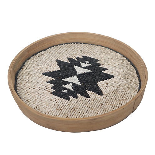 Tray With Mixed Motif and Size