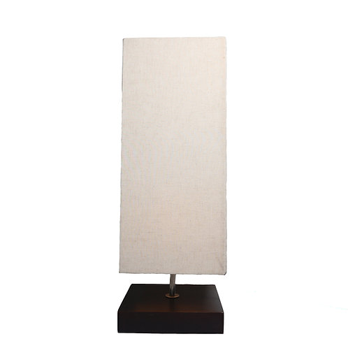 Square Cotton Shade Table Lamp