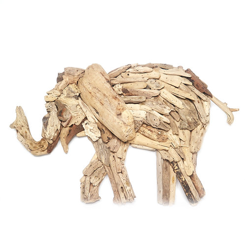 Elephant Driftwood Decoration