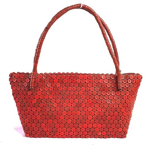 Wood bag red color