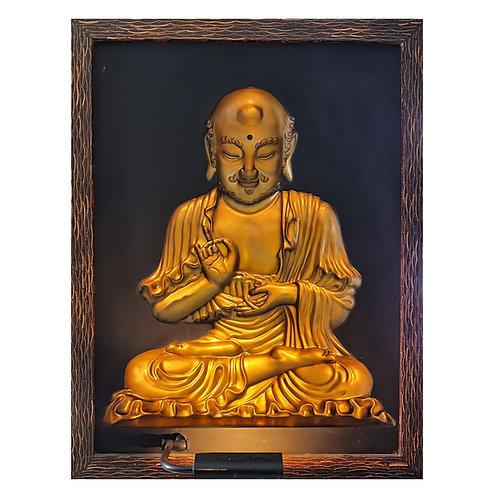 Golden Budha Tibet 3D Wall Art Lamp