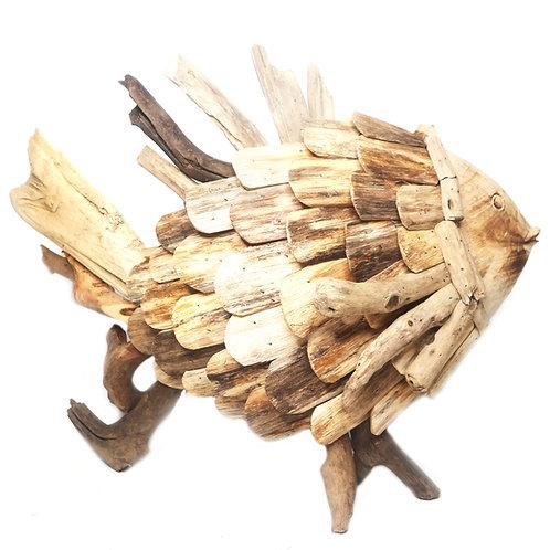 Dory Driftwood Decoration
