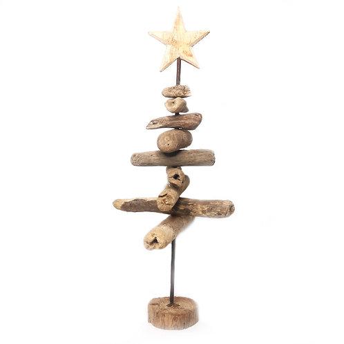 Abstract Christmas Driftwood