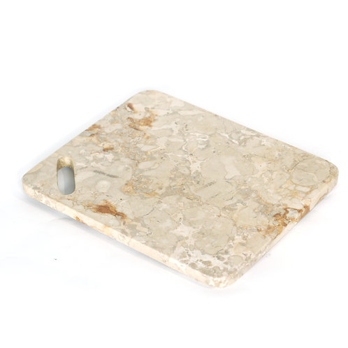 Marble chopping board white