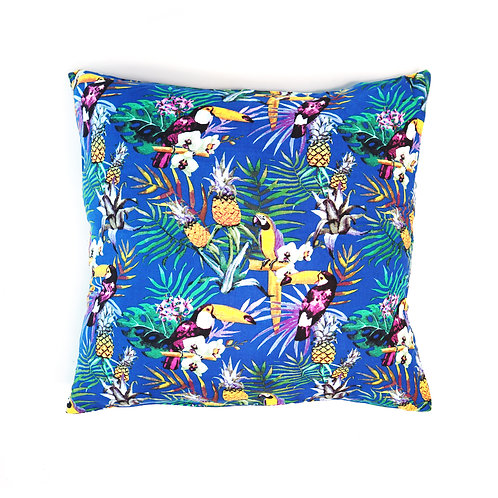 Tropical Forest Bird Pillow Case