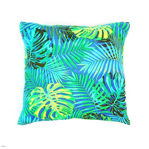 Tropical Sea Blue Dye Pillow Case