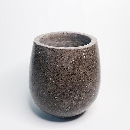 Terrazzo Pot in Grey