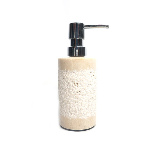 White Dispenser Pump Bottle for Bathroom Vanity