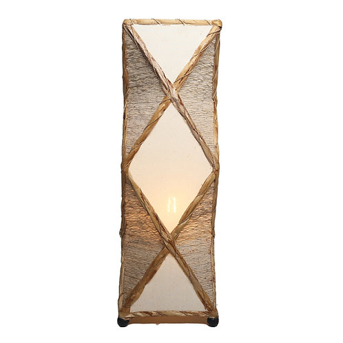Rectangle Akarwangi Table Lamp