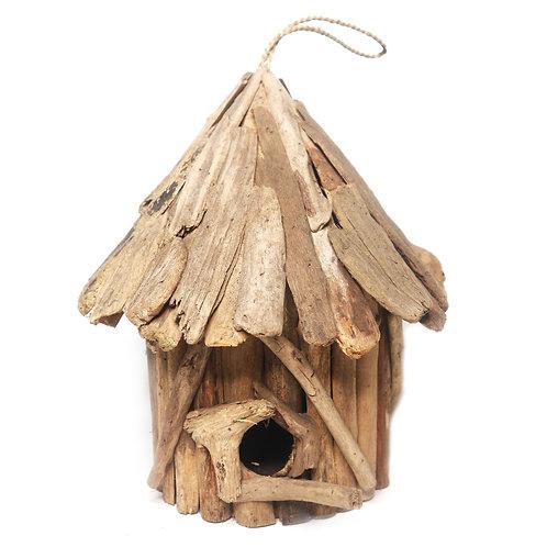 Driftwood Bird House Decoration
