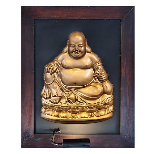 Happy Budha Full Body 3D Wall Art Lamp