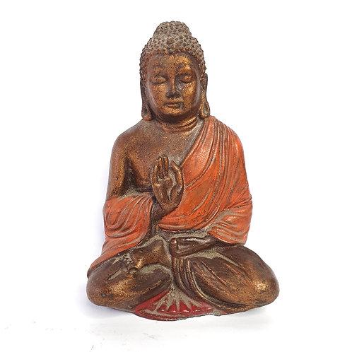 Small Buddha in bronze color