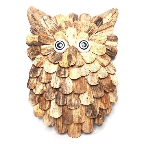 Owl Driftwood Decoration