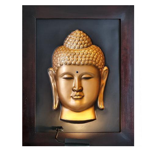 Golden Budha 3D Wall Art Lamp