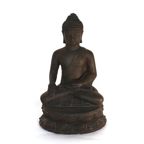 Budha on lotus Statue