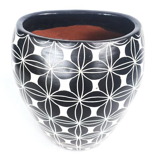 Batik Motif Clay Pots